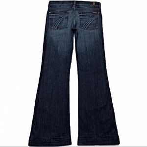 7 For All Mankind Dojo 30X35 XL Long Flare Jeans
